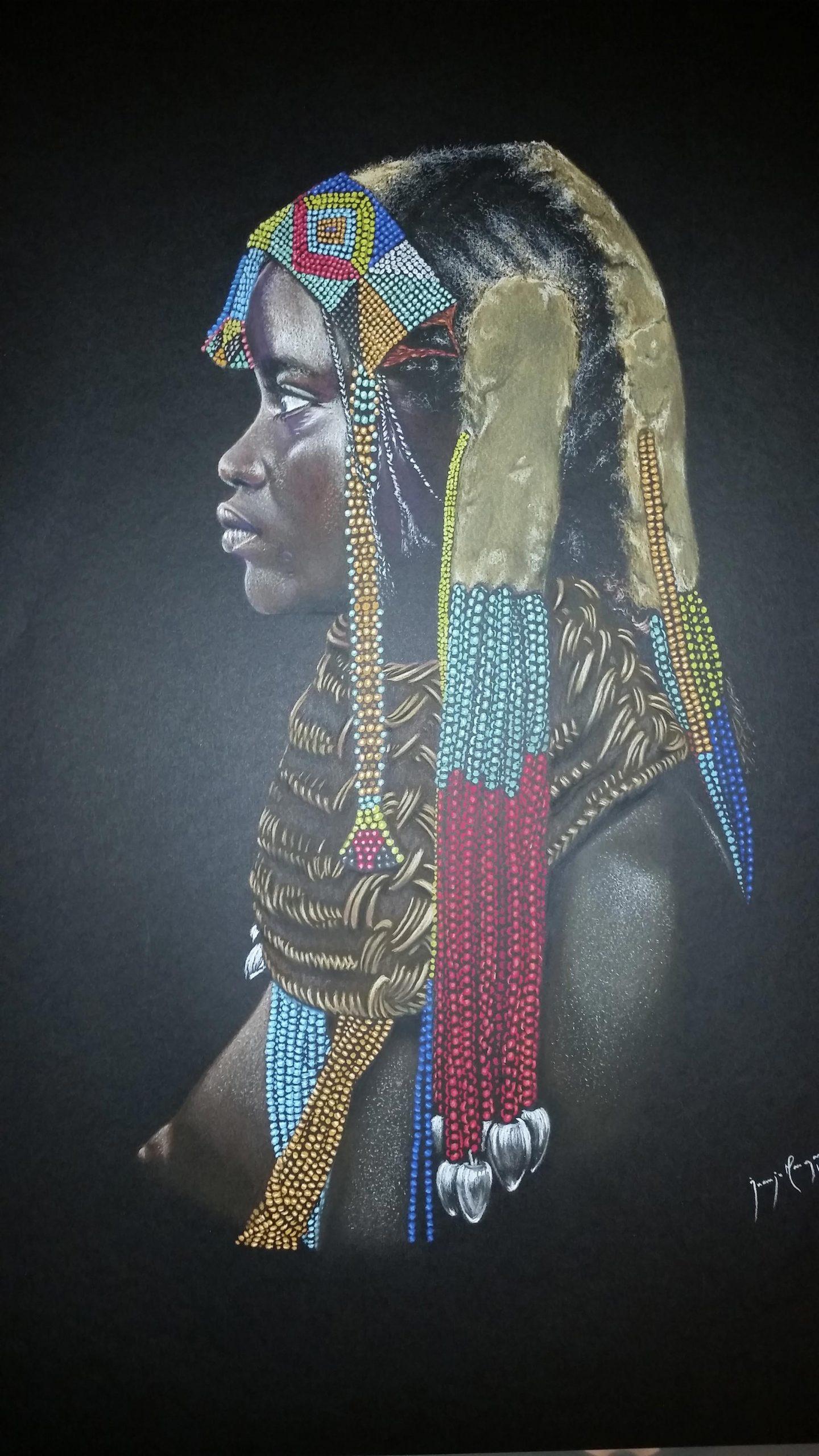 Juanjo Mangas. 'Colores de África'